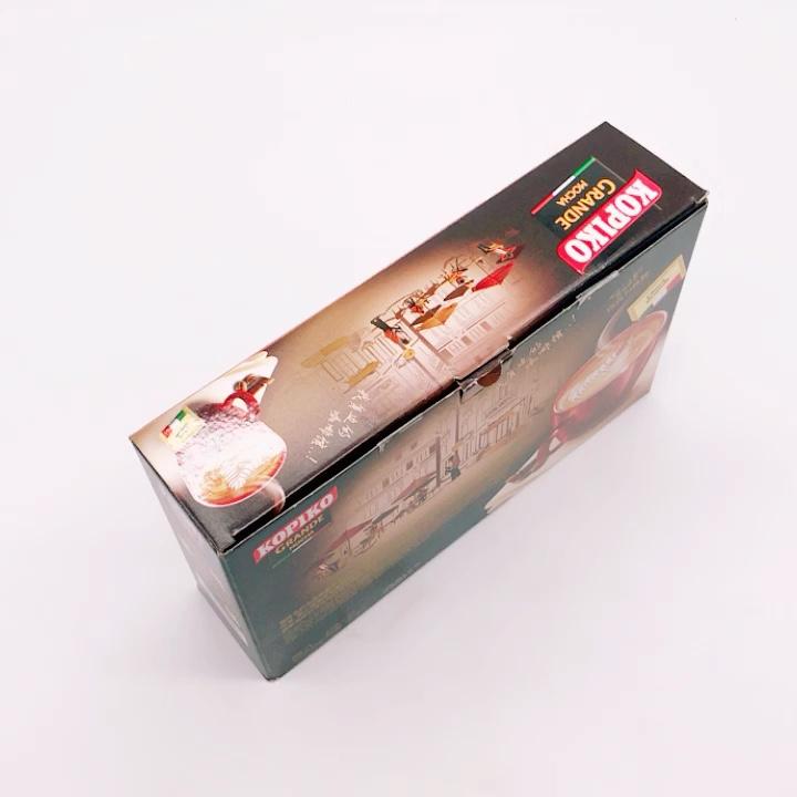 Personalizado caixa de Embalagem de Café de Papel Ondulado Dobrável