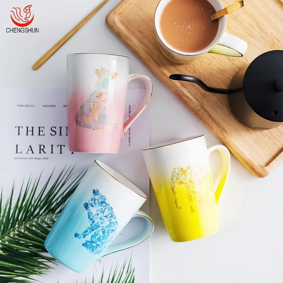 Personalisierte Farbwechsel Becher Farbe Tassen Drink Typ Und Keramik Material Keramik Tassen Mit Tier Muster Für Verkauf