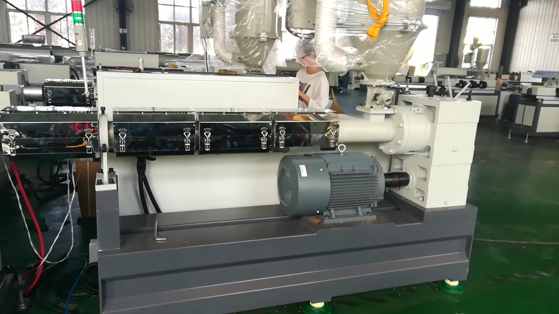 Tongsan Plastic Machinery PP/PE/EVA/PVCpipe Making Extrusion Machine/Equipment/pipe machine