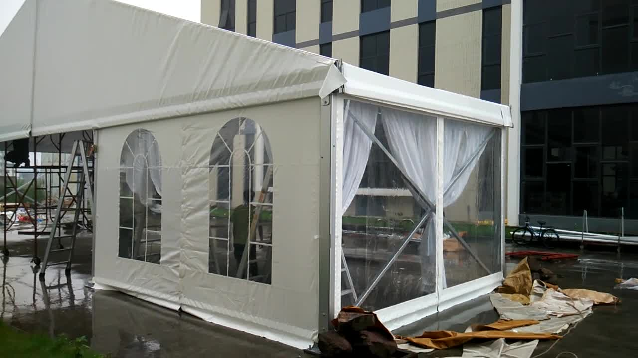Large Aluminum Frame Structure outdoor industrial farm storage warehouse tents