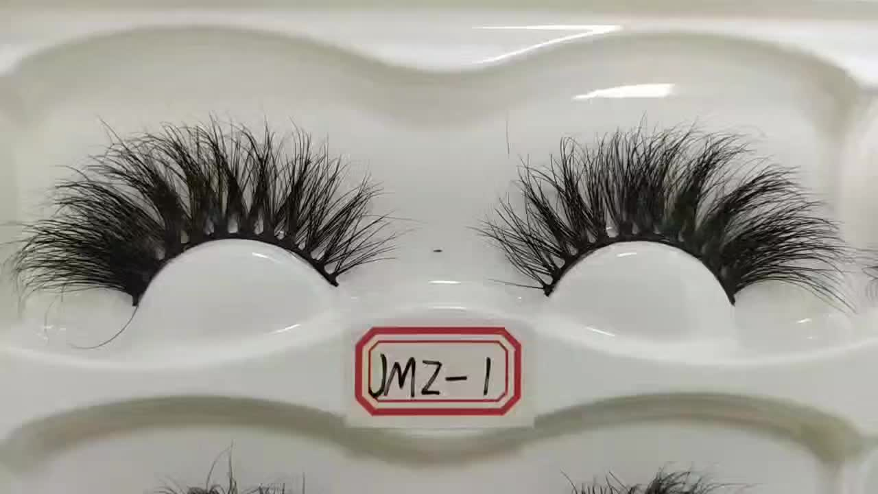 Beautiful 22mm Mink Eyelashes Handmade Eyelash Extension Private Label False Eyelash Vendor Eyelash Packaging