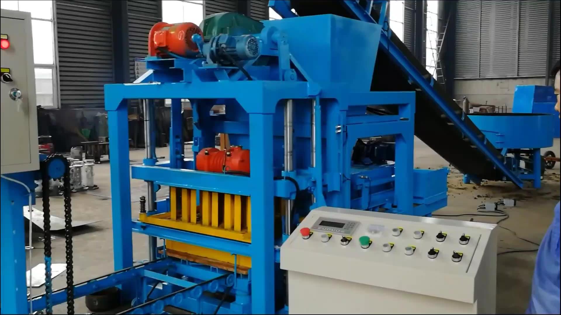 Fiyat listesi QT4-25 yumurta döşeme blok yapma makinesi/yapı malzemesi beton blok yapma makinesi