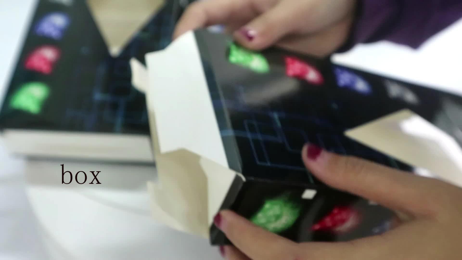 Печатные коробки бумажные упаковывая цвета электронные упаковывая конструкции коробки