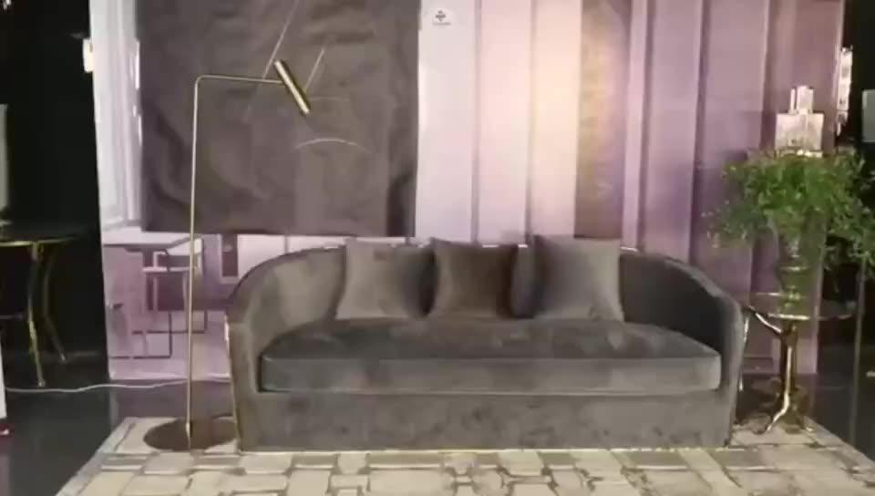 โมเดิร์นโลหะตกแต่งร่วมสมัย LED การออกแบบโคมไฟสำหรับห้องนั่งเล่น