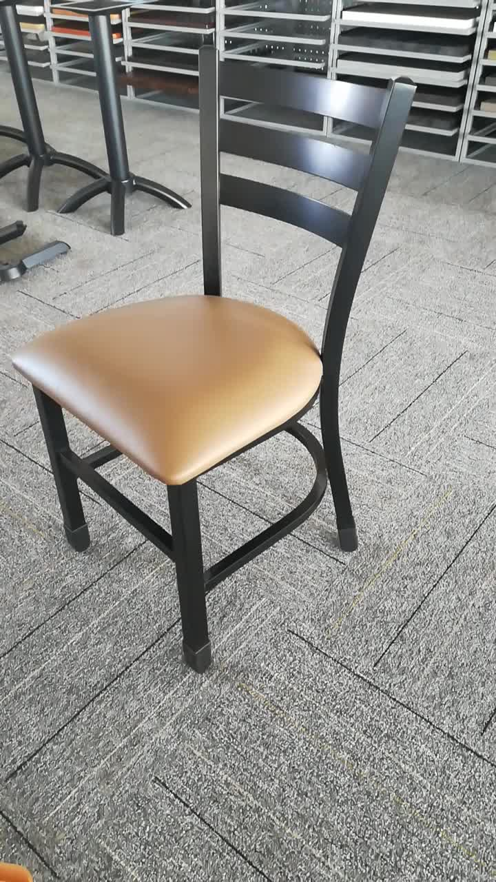Restaurant Furniture Cheap Wood Metal Restaurant Chairs