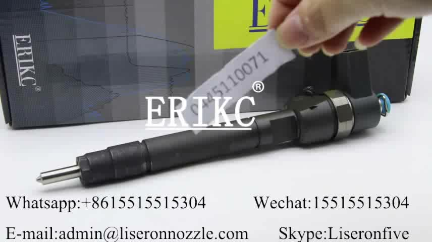 Common rail original fuel injection 0445 110 071 diesel injector parts 0445110071 fuel injection pump  0 445 110 071