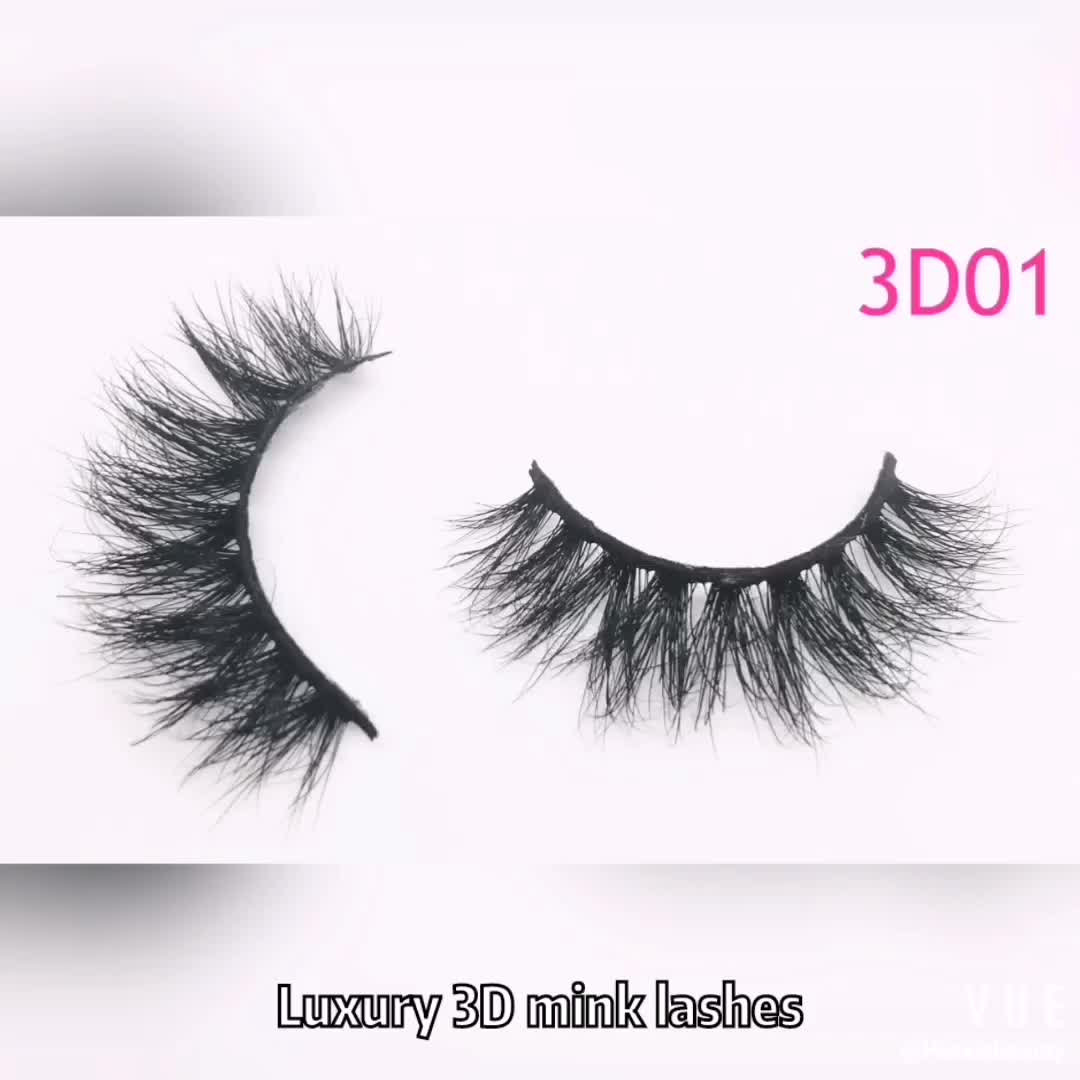 Best 25MM Eyelashes Private Label Mink Lahes 3d Mink Eyelash wholesale with glitter custom boxes