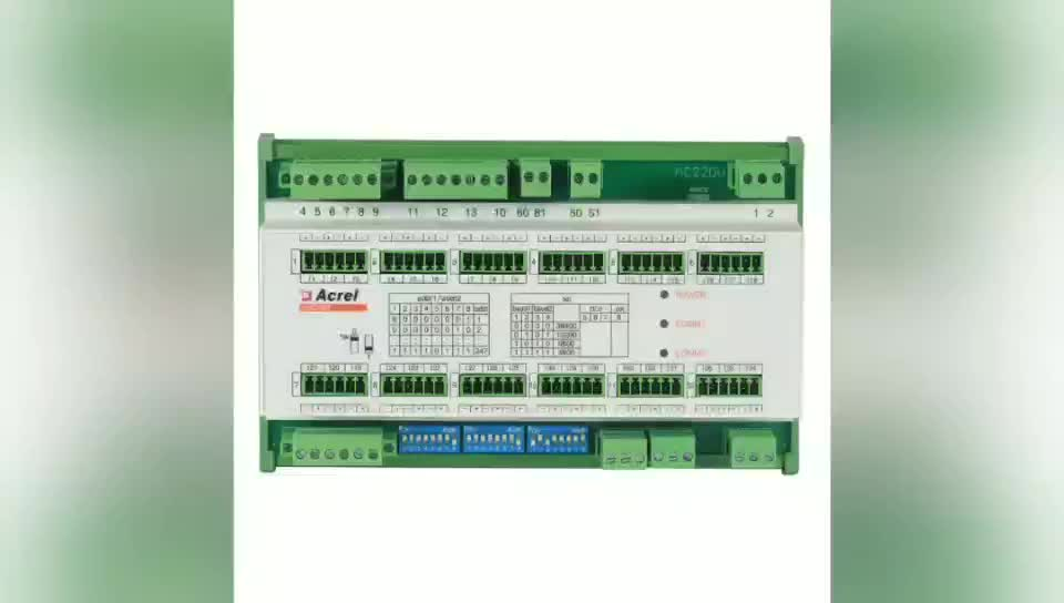multi circuit power energy meter with 12 channel 3 phase outlet