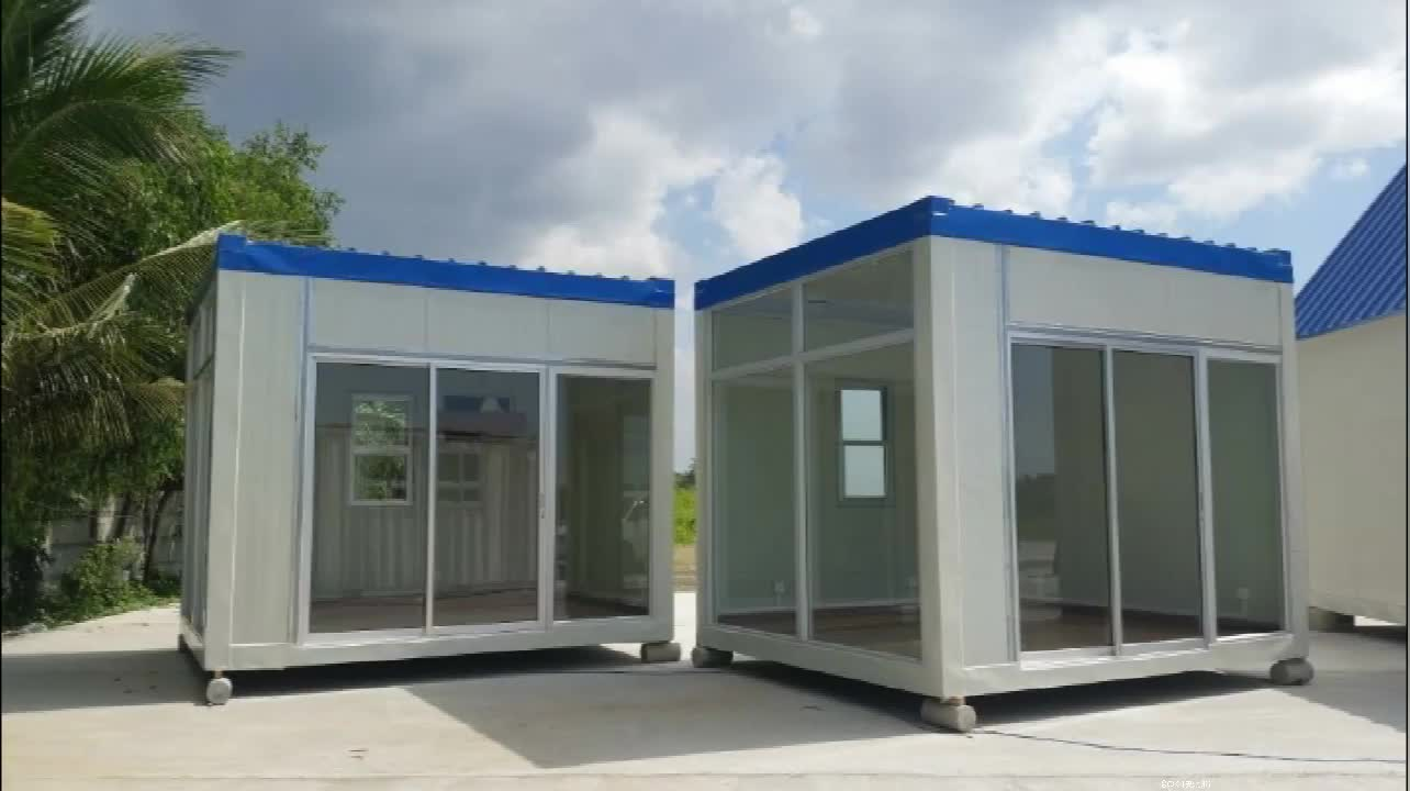 prefab sandwich panel mobile portable kiosk booth outdoor food prices