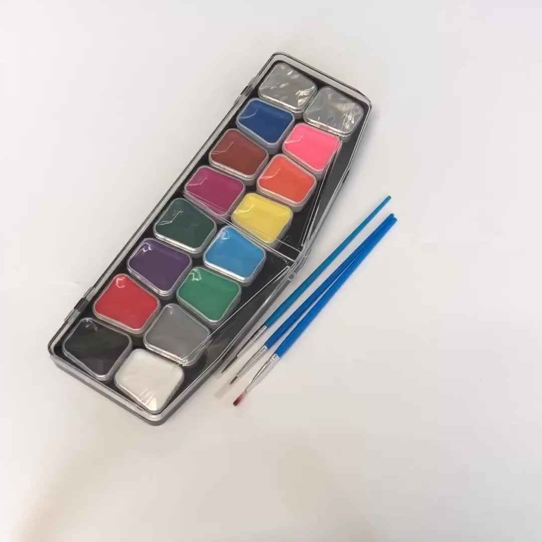 Ungiftig Colorlution Wasserdichte Körper glow farbe Gesicht malen