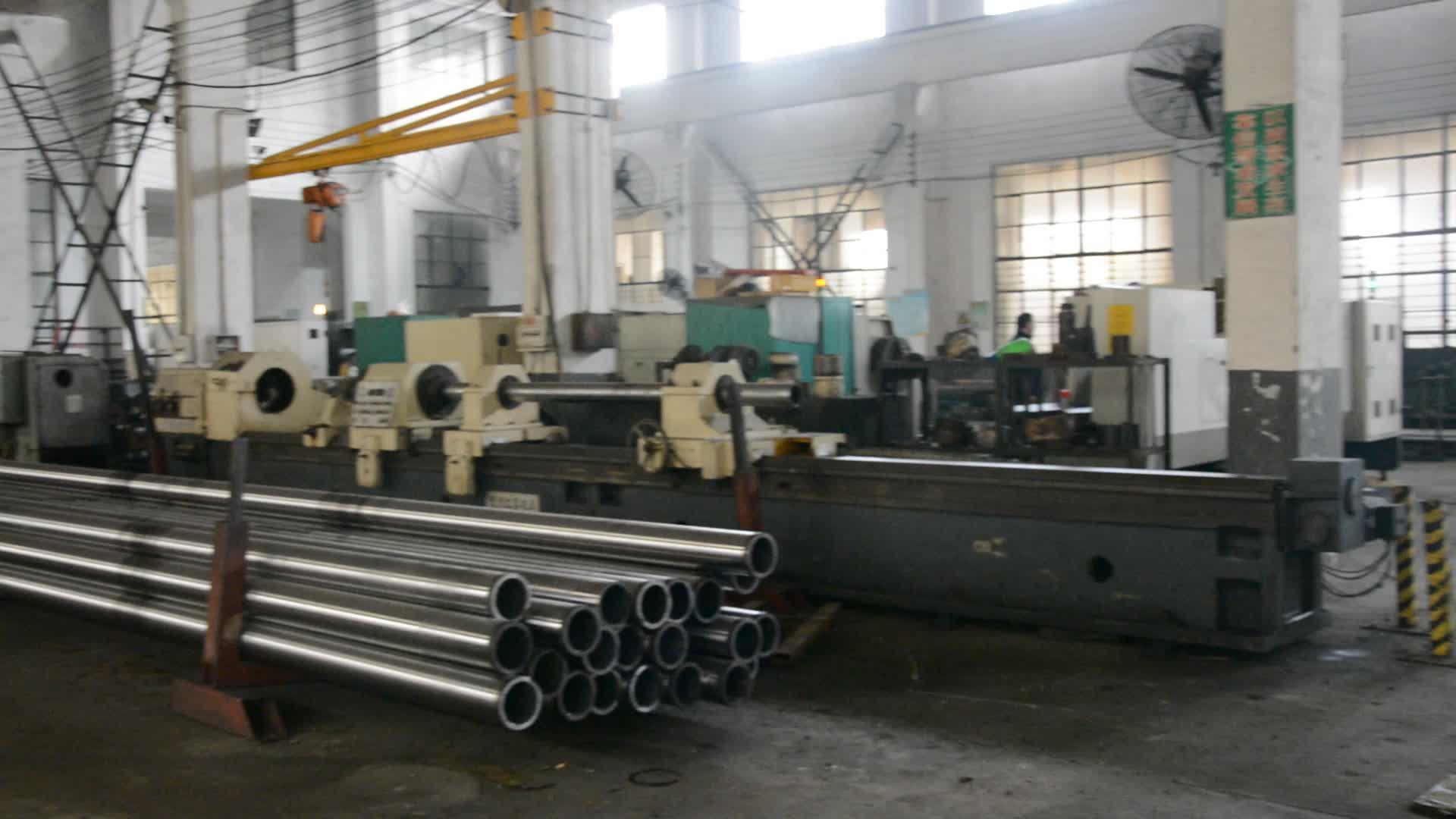Ajustable personalización cilindro hidráulico uso para la máquina de cilindros hidráulicos