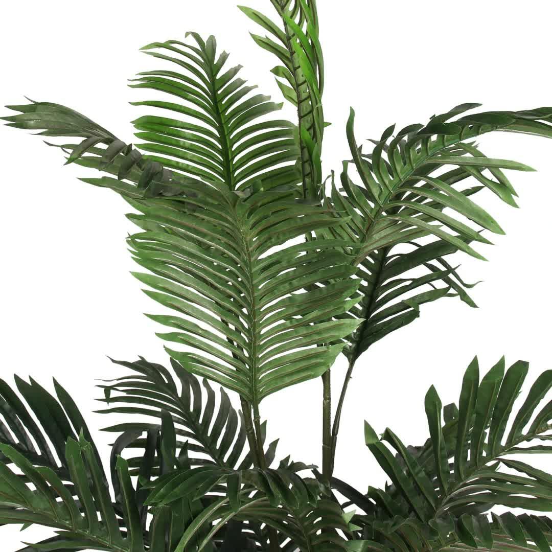 Palmera Artificial hawaiana, bambú bonsái, palmera artificial grande para exteriores, para decoración de plantas, árboles ficus