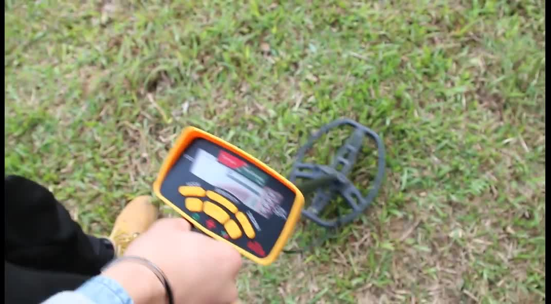 Earth searching deep distance ground gold nuggets metal detector