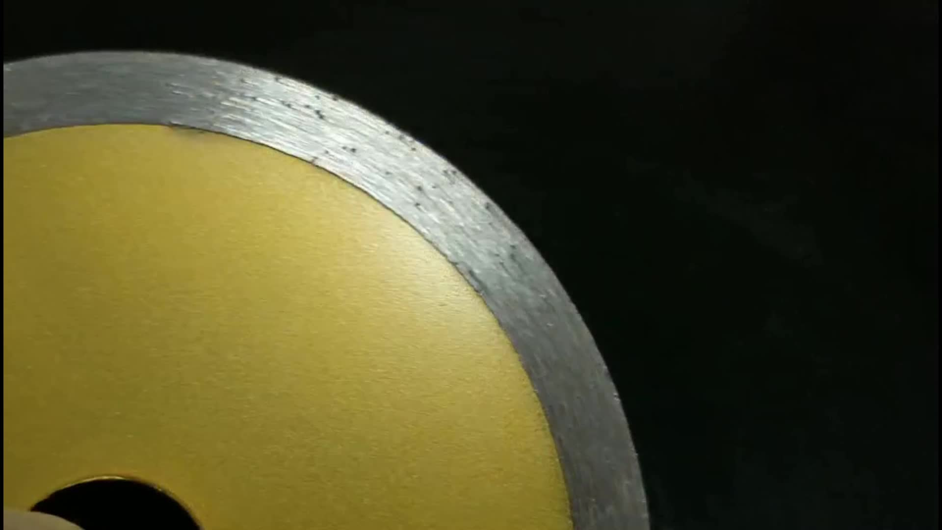 Continuous Rim Diamond Saw Blade Wet Cutting Disc for Marble