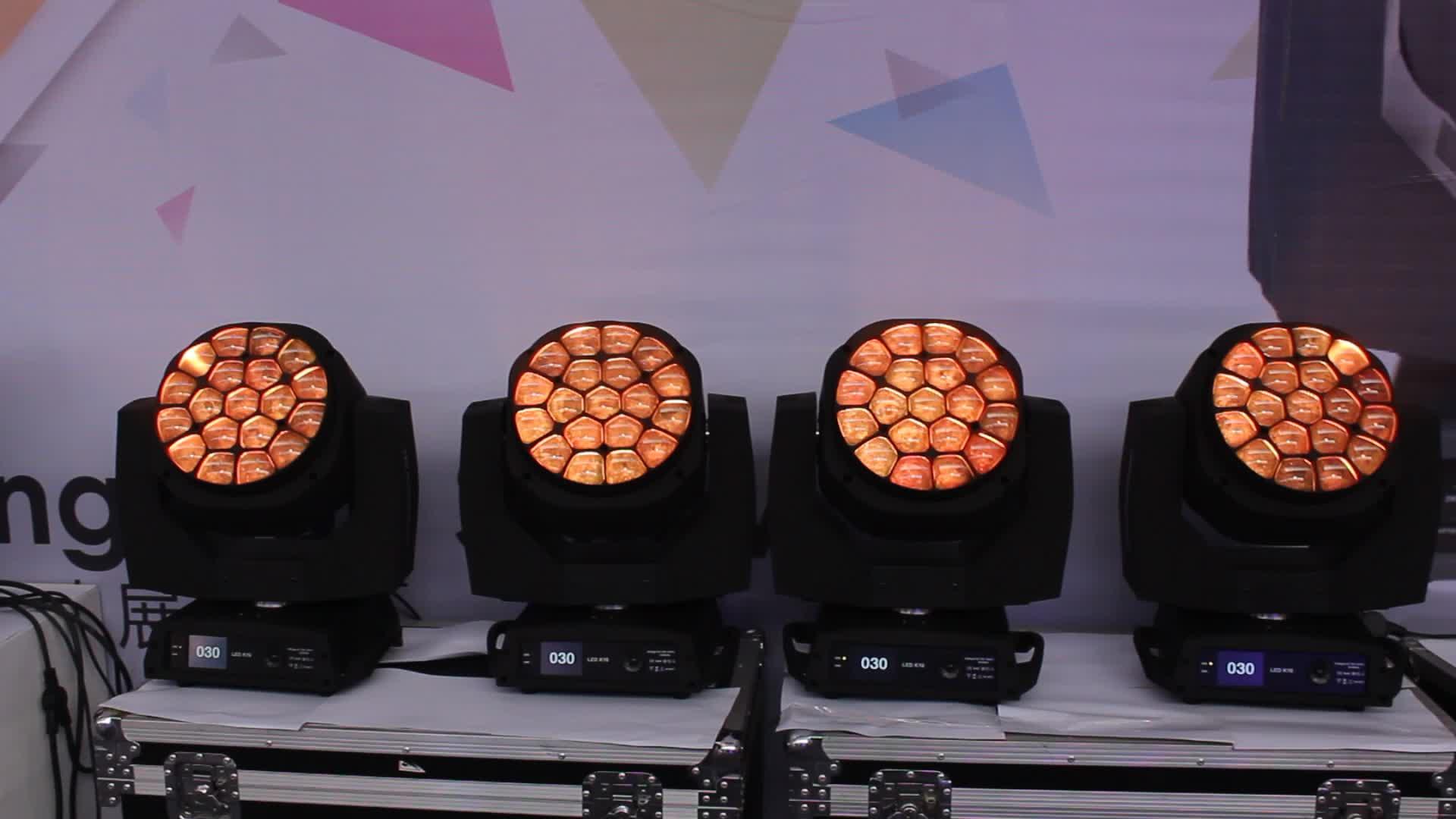 Best selling MANGO-K10 led mini spider moving head wash light led 15w