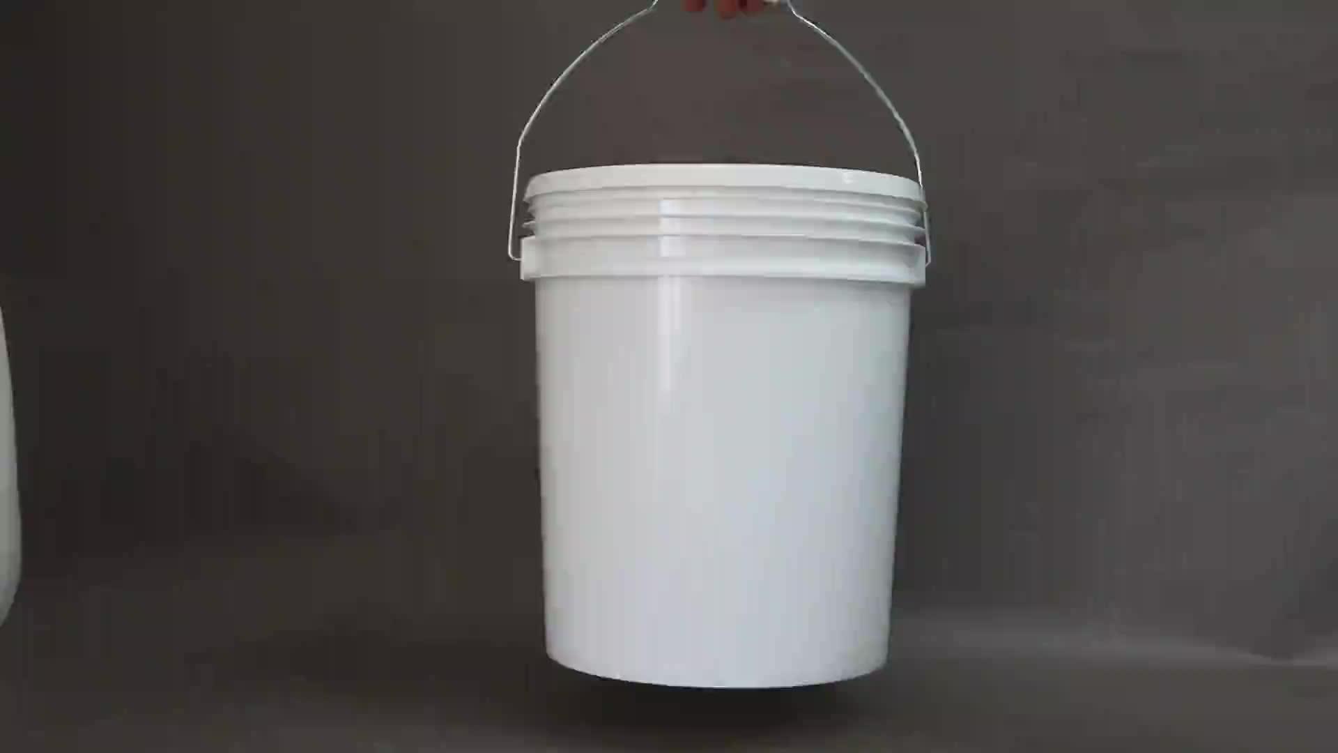 INNOPACK piccolo 20L secchi di plastica commercio all'ingrosso, a buon mercato di plastica secchio di plastica con coperchio