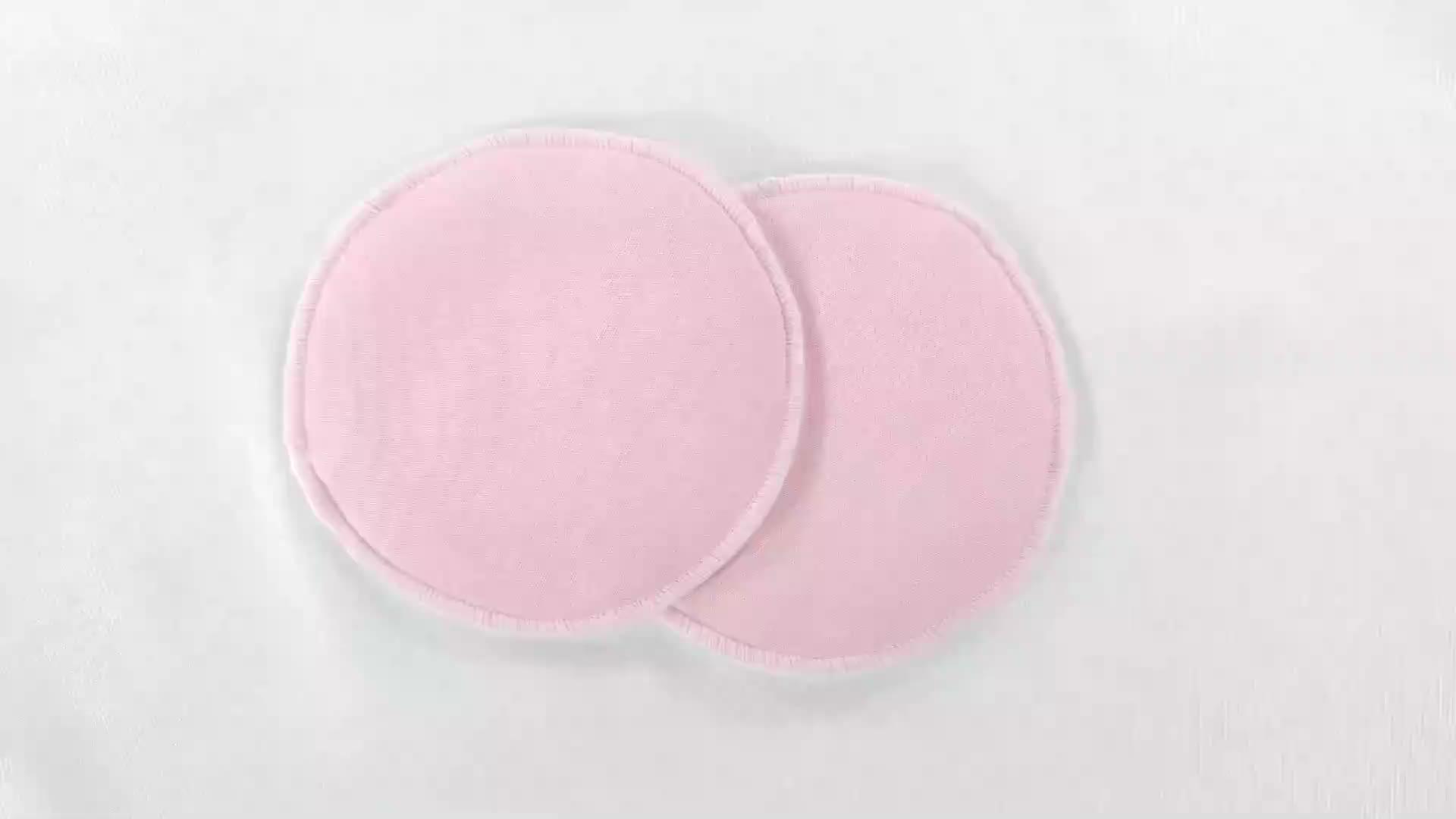 超ソフト母乳看護パッド、使い捨て胸パッドでの授乳ブラパッド洗濯バッグ