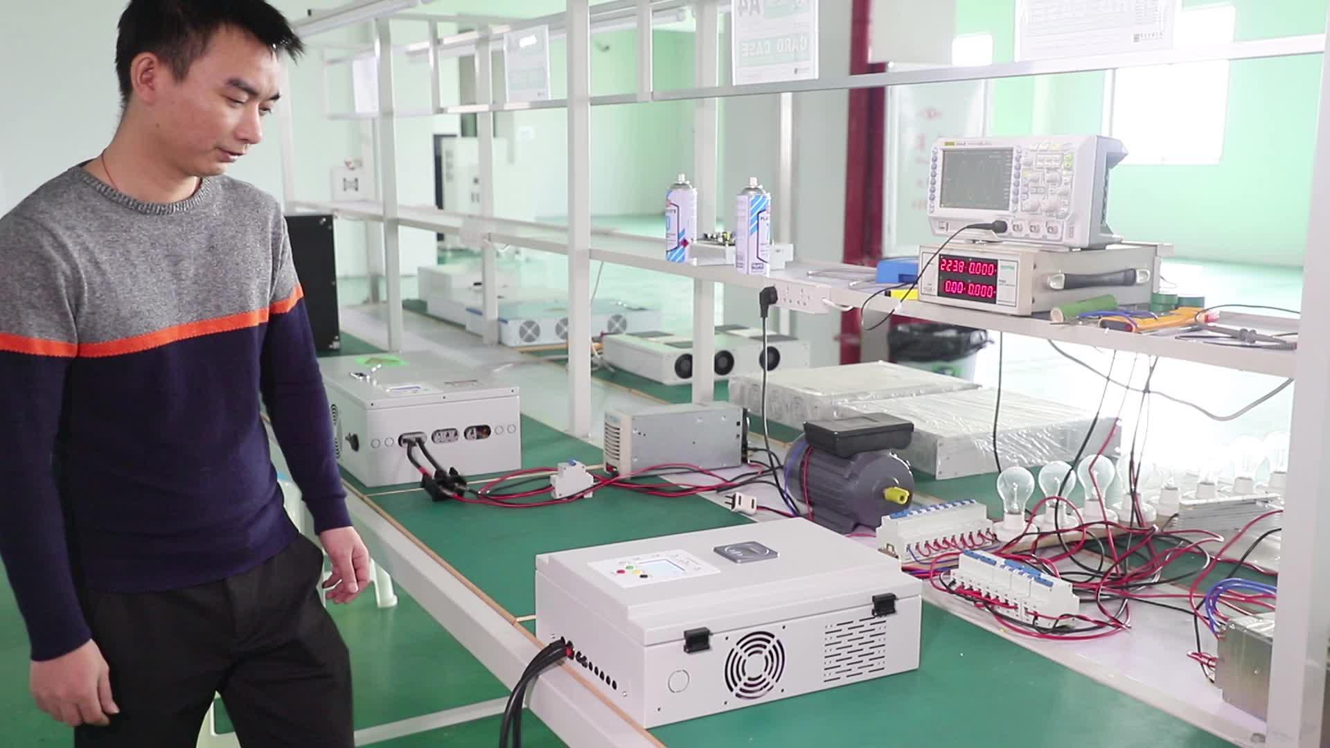 Chine Usine En Gros 1000 Watts Onduleur de Grille Onduleur Hybride Solaire Onduleur