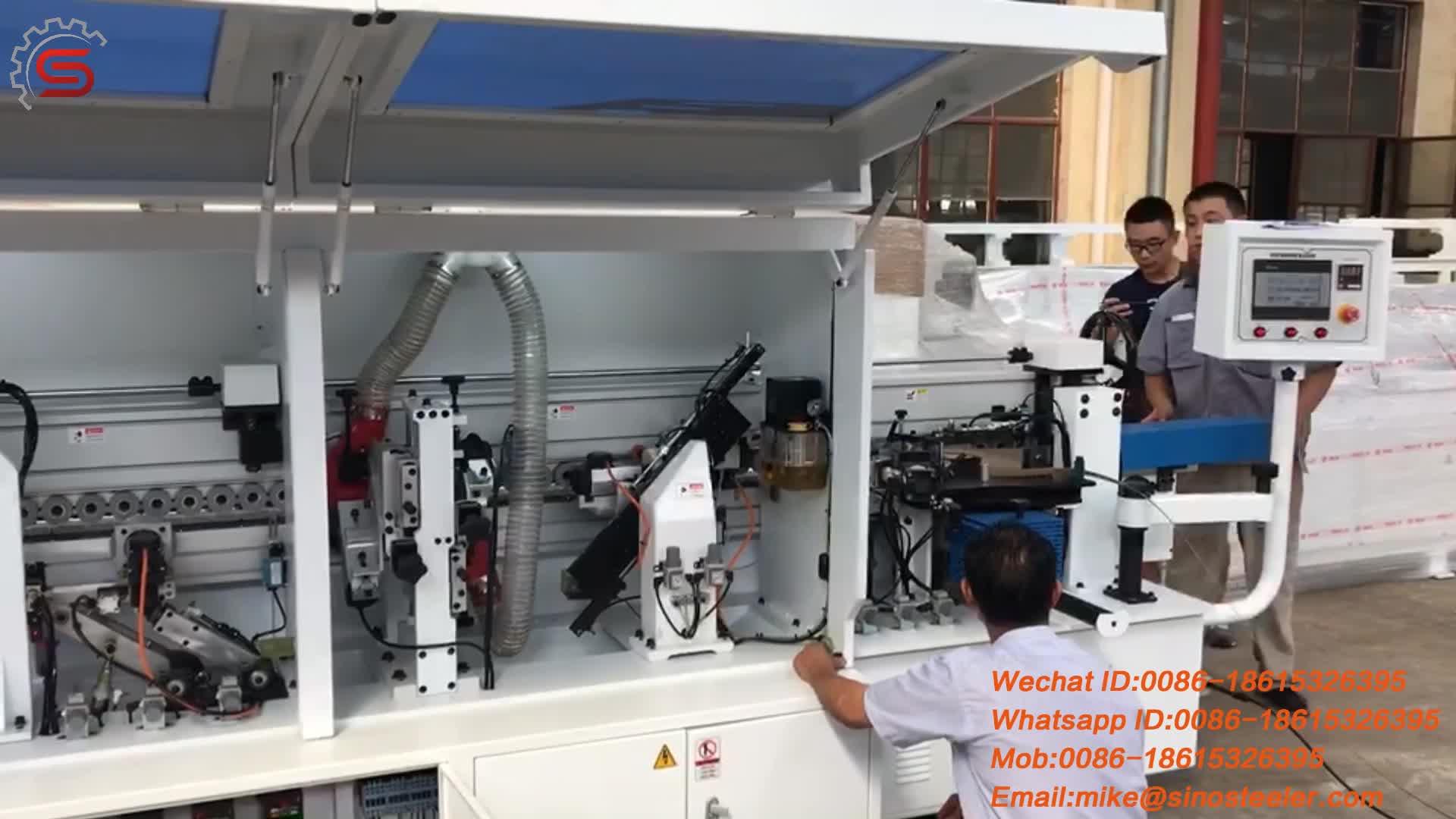 MFZ607 hoekafronding rand banding machine voor hout