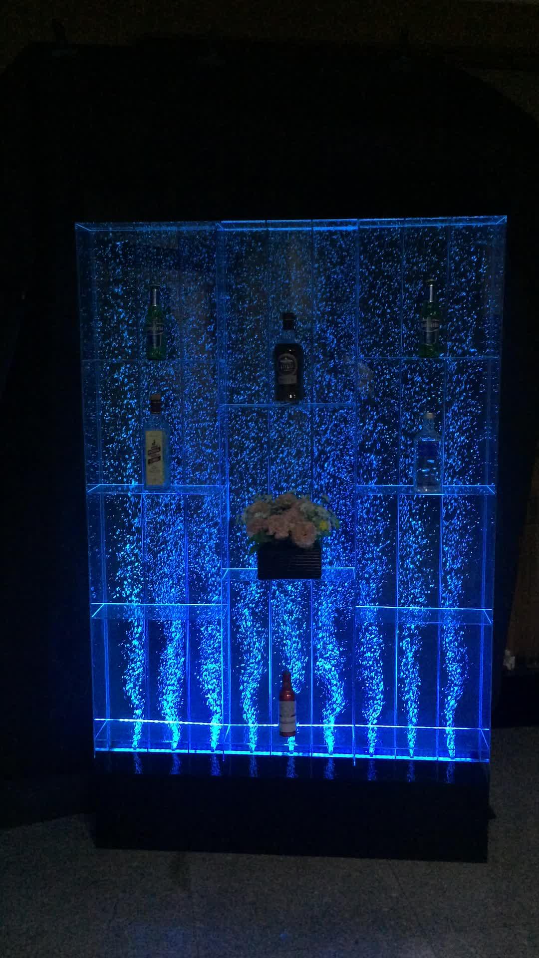 New Wine Cabinet Standing acrylic bubble wall for interior decor