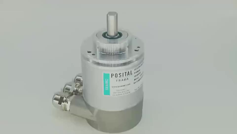 OCD-DPC1B-1212-C10S-H3P multi-turn 12bits 4096 profibus-DP interface absolute rotary encoder