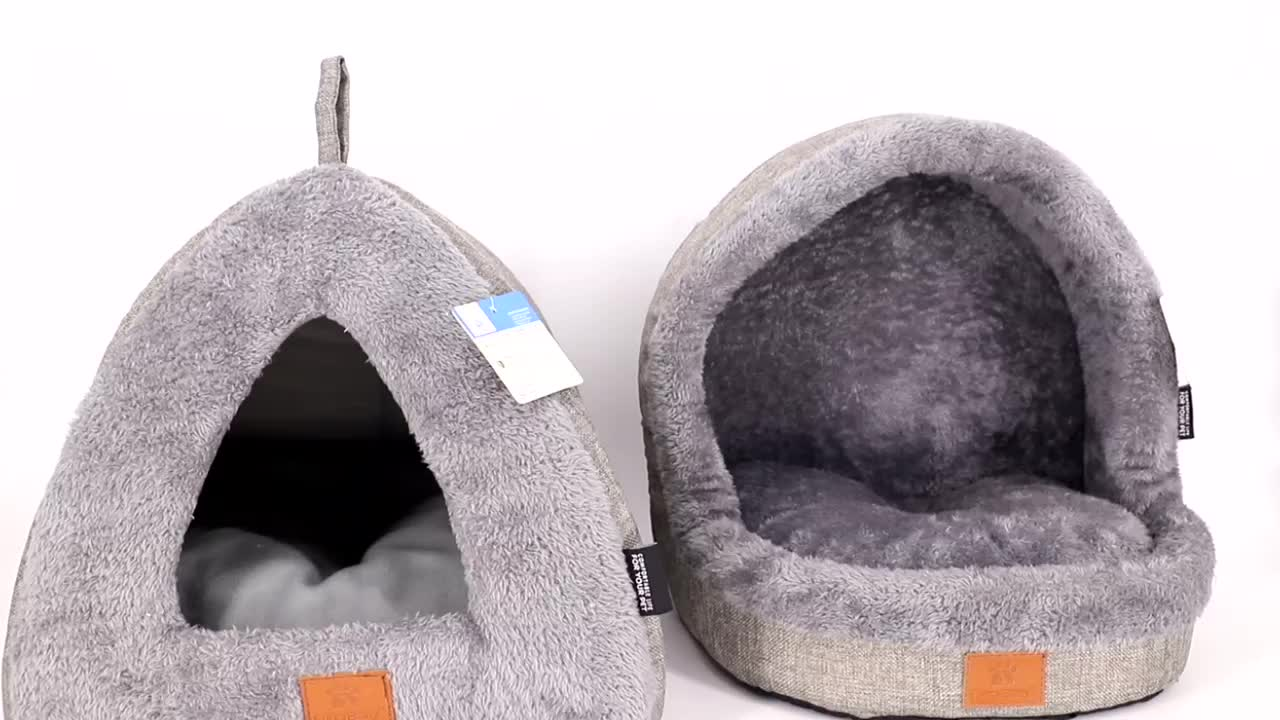 Soft And Removeable Custom Indoor Dog House Pet Bed