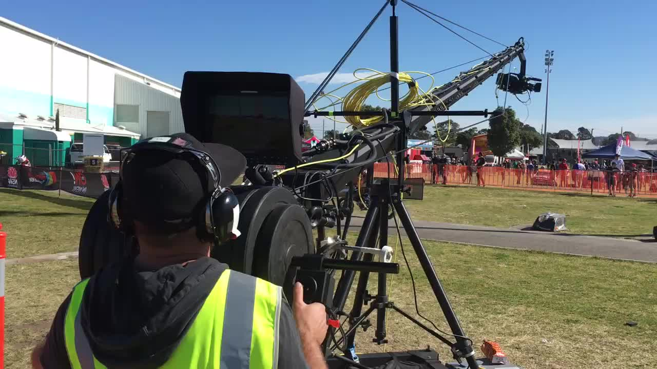 Camera Crane 3-17m Andy Jib with 30KGS Payload