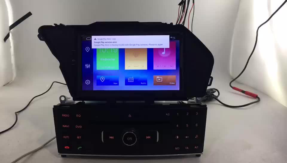 Tela de toque HD android 10 quad core 2 + 16g car DVD player gps de navegação para mercedes benz GLK estéreo rádio do carro