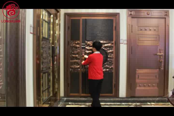 Apartment safe steel door exterior alibaba hot sale american steel doors made