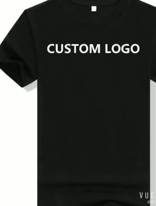 Cheap Promotional T - shirt for Sublimation Custom Logo Printed 15% cotton 85% poly-blended t shirt