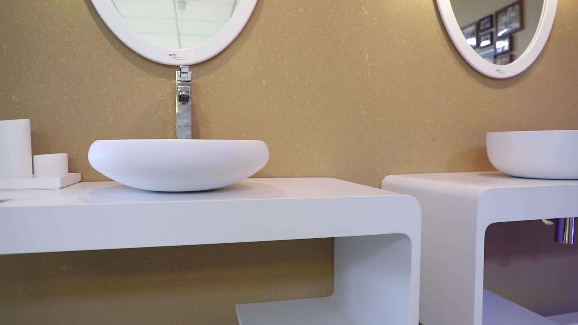 โรงแรม Smart LED กระจก frameless bath กระจกห้องน้ำกระจกเงาโรงงานขายส่ง