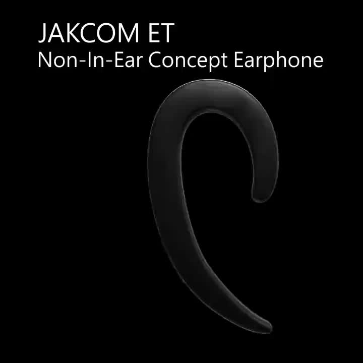 JAKCOM ET Non In Ear Concept Earphone New Product of Earphones Headphones like women watches wireless quick charging trending