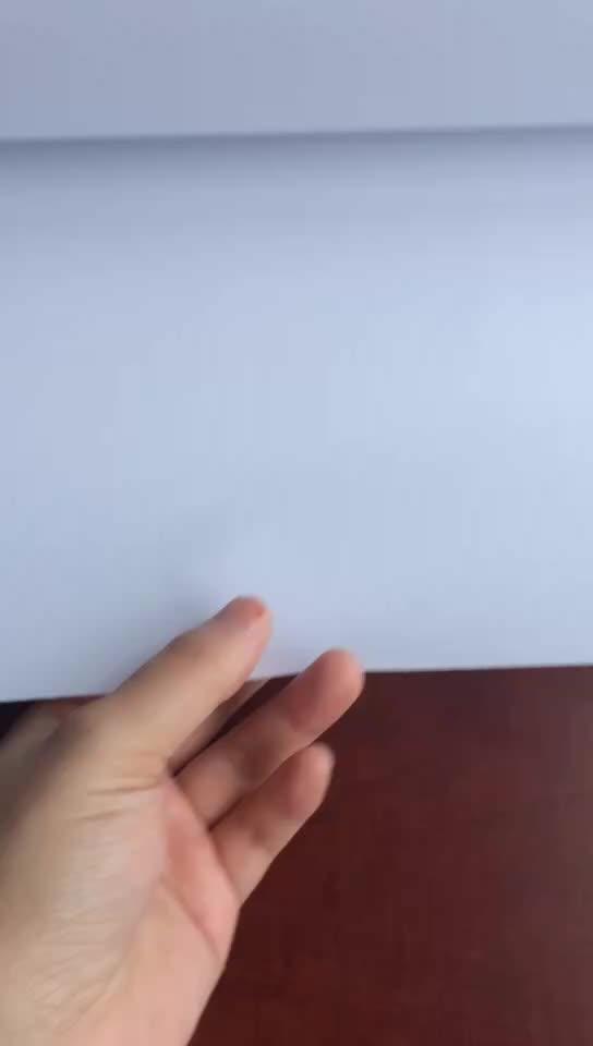 Многоразовые и водонепроницаемый 80gsm белый Woodfree бумага с 15 г PE обернуть мыло