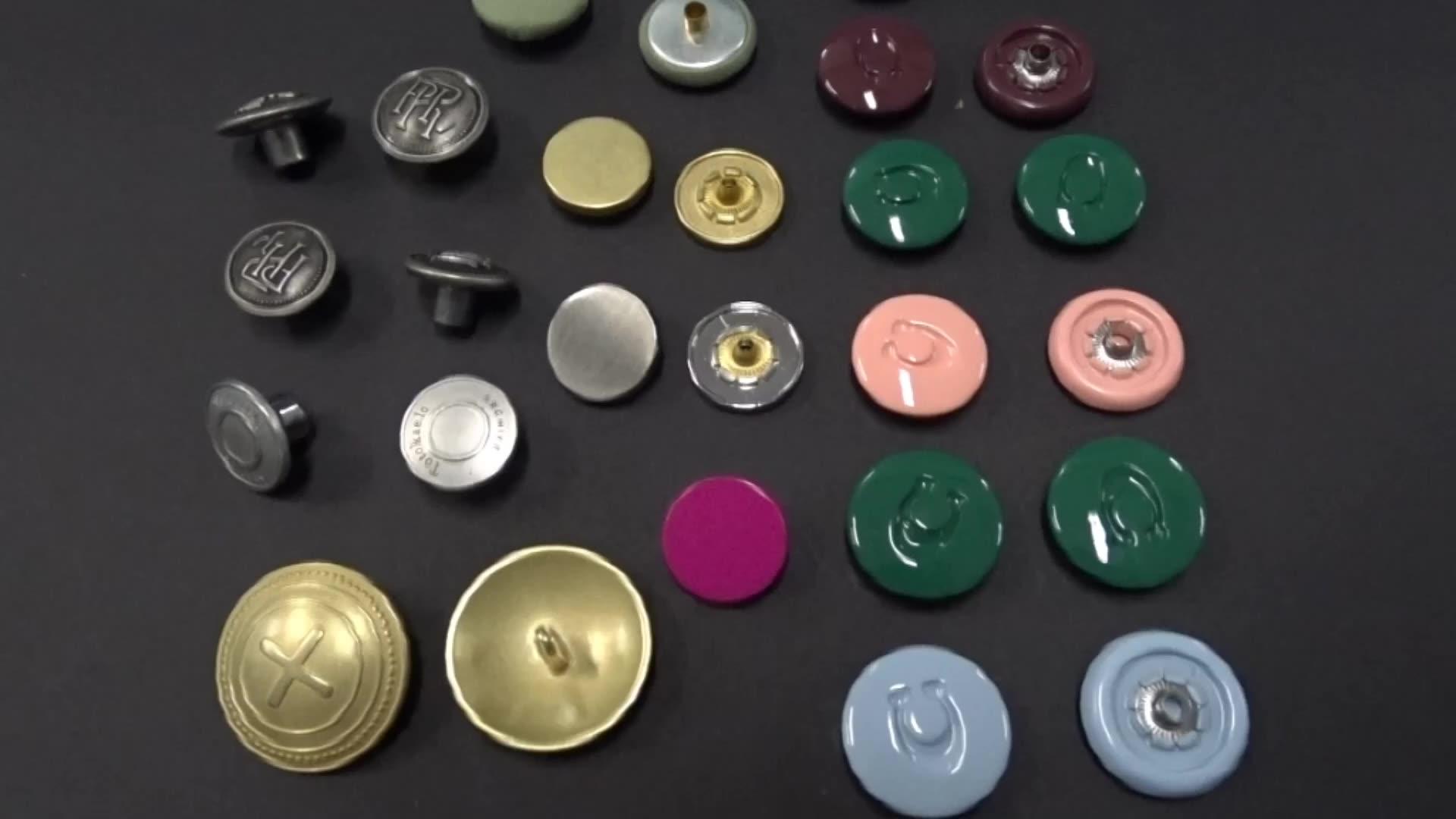 تصميم جديد مخصص تك زر الجينز الدنيم زر معدني زر معدن للبنطلون الجينز للجينز
