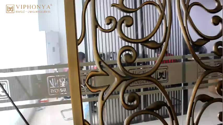 Chinese factory sale exterior decorative panels stainless steel decorative perforated laser cut metal panel