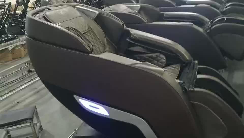 3d zero gravity recliner China sofa 3D shiatsu cheap massage chair/massage chair sofa