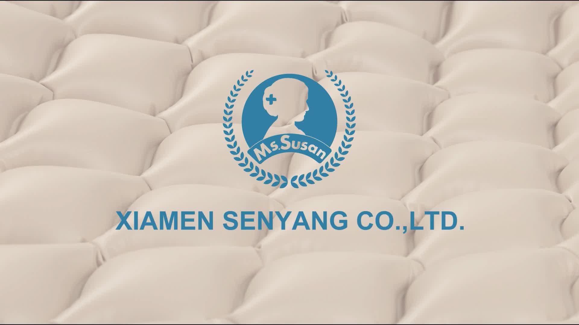 Senyang en iyi tıbbi şişme kabarcık anti-decubitus bedsore bedridden sağlık ev bakım hastane yatağı hava yatağı yaşlılar için
