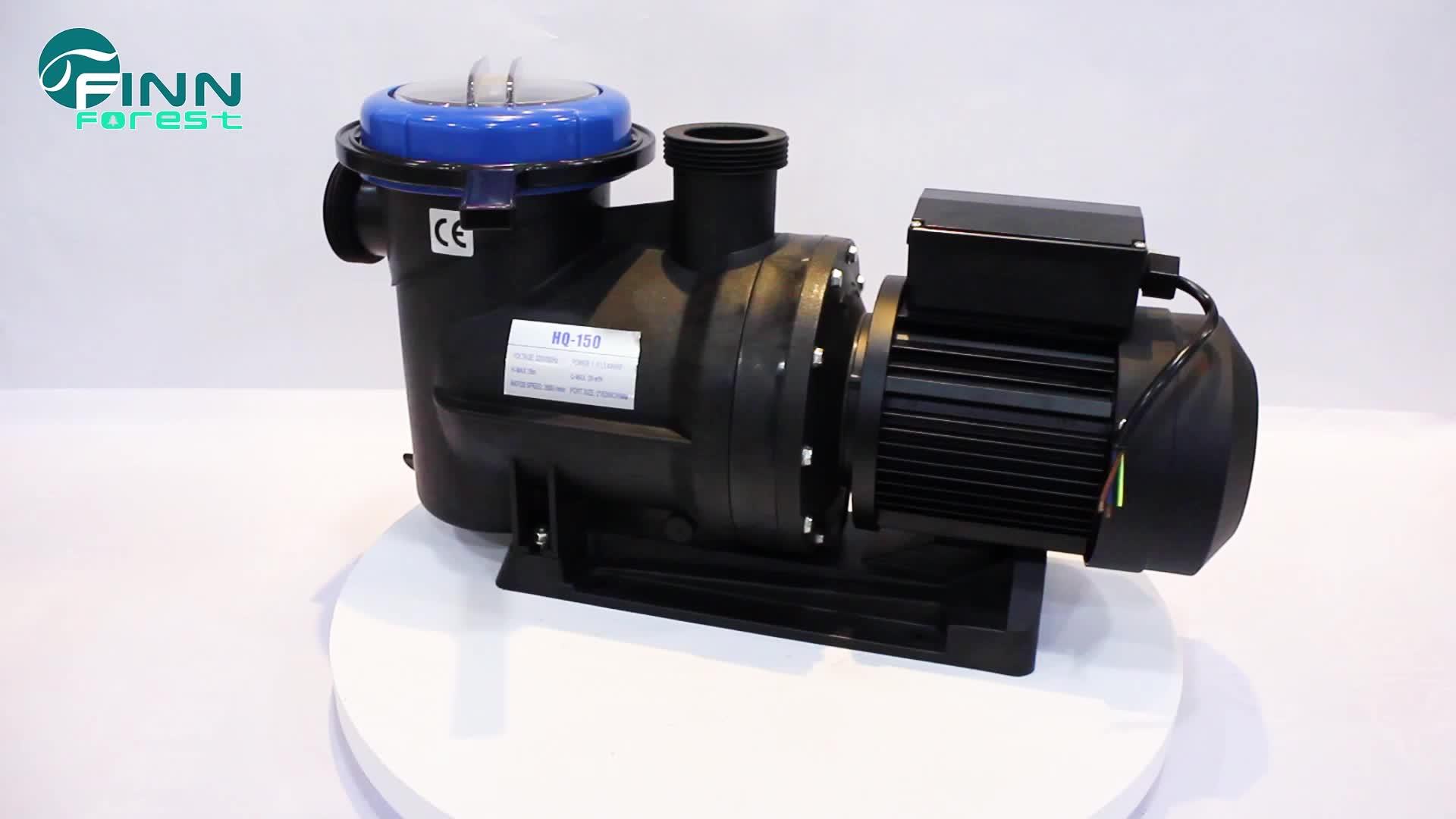 Tinggi Angkat Motor Listrik Air Hujan Air Pump 0.5 HP Pompa Kolam Renang