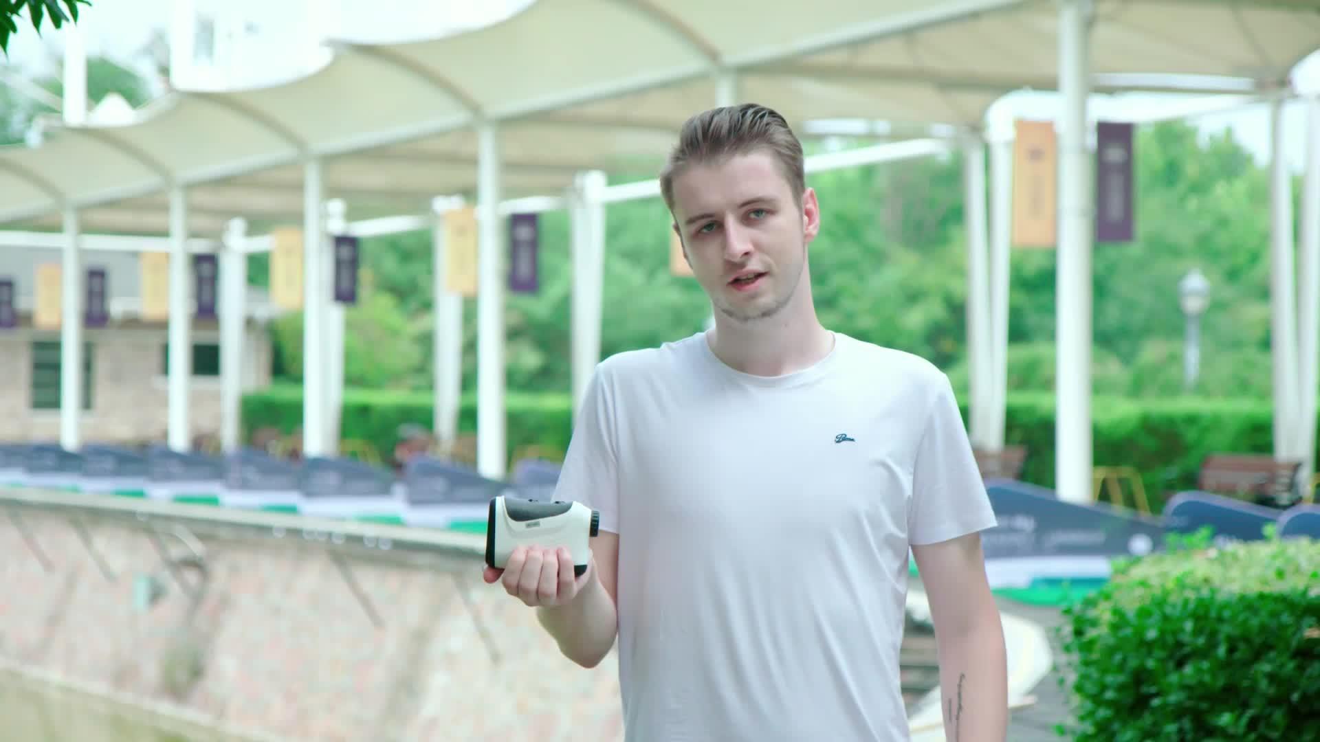 ספורט גישה מד טווח גולף לייזר טווח finder לגולף סין לייזר מד טווח