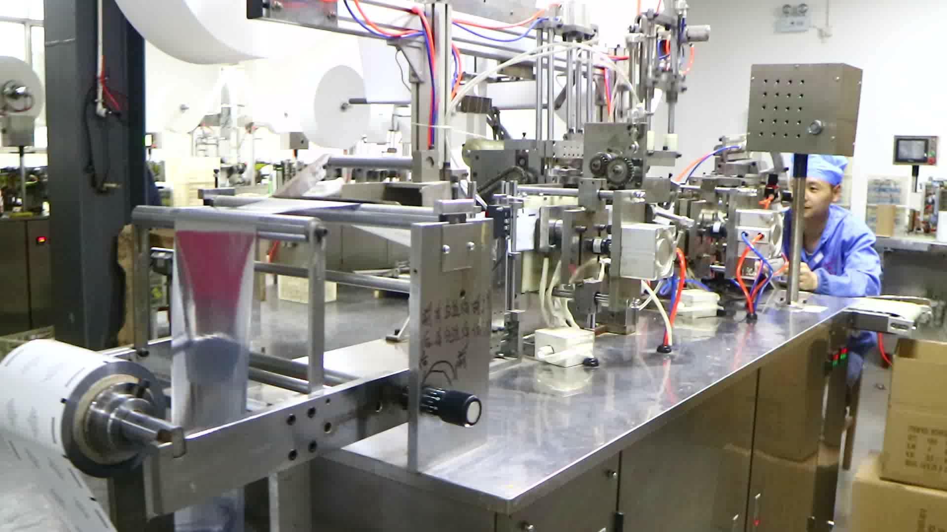 groothandel op maat gedrukte hand sanitizer weefsel