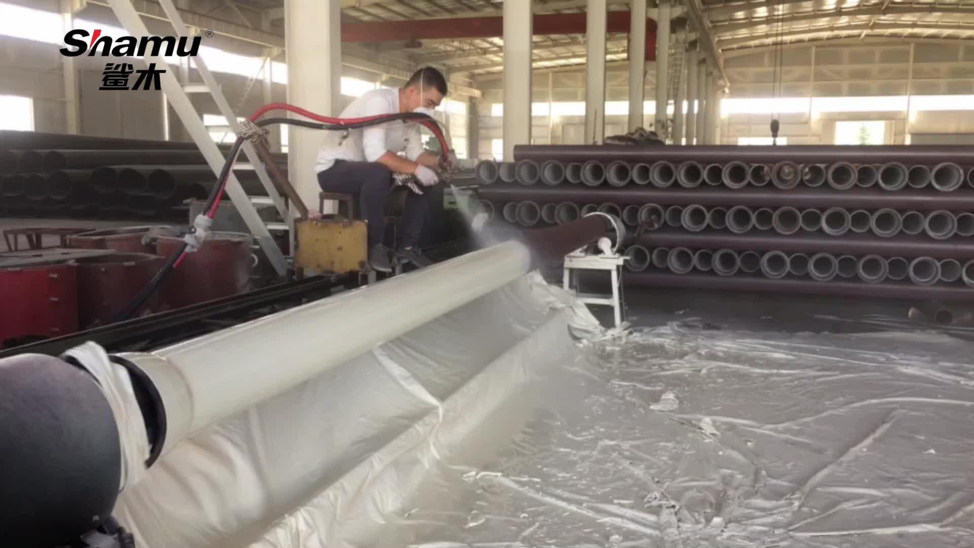 De acero inoxidable de tuberías de agua potable contra la corrosión del tubo