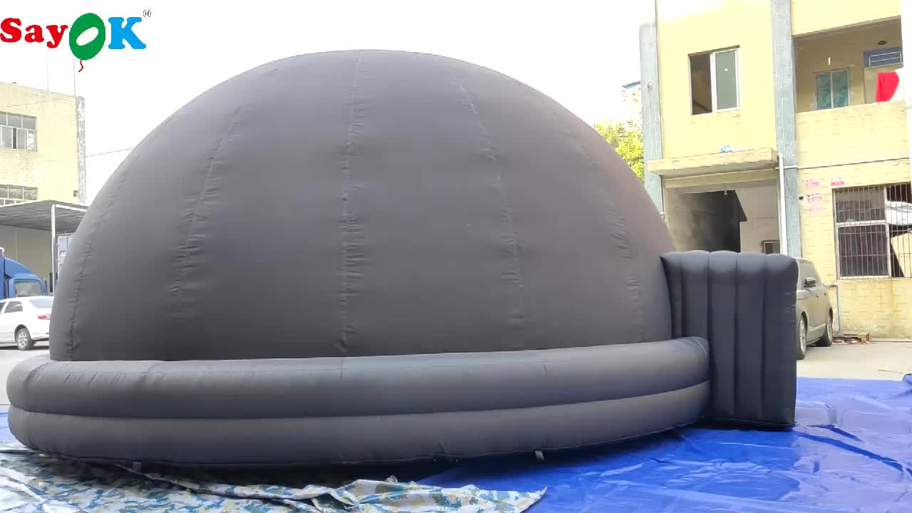 astronomical dome tent mobile inflatable planetarium dome