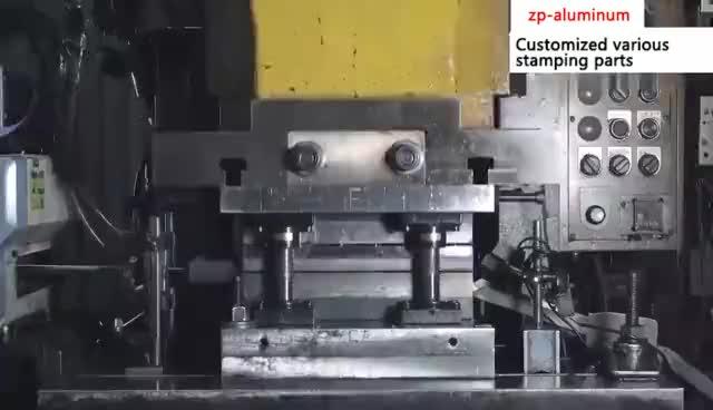 custom aluminium metal stamped