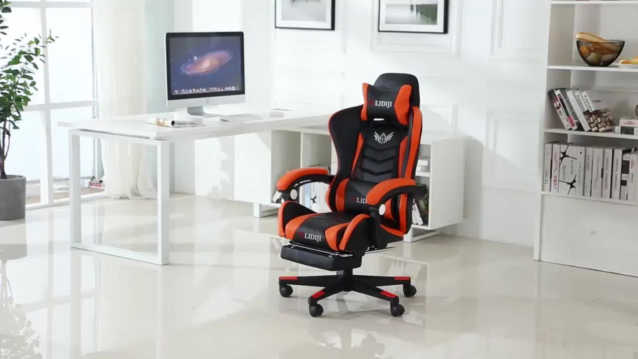 2019 Newest leather office chair for sale LOL computer racing gaming chair
