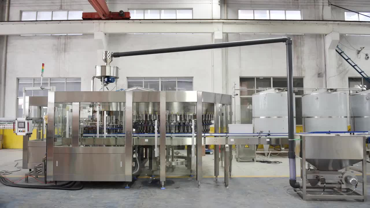 Straight Line Mineral Water Filling Production Line