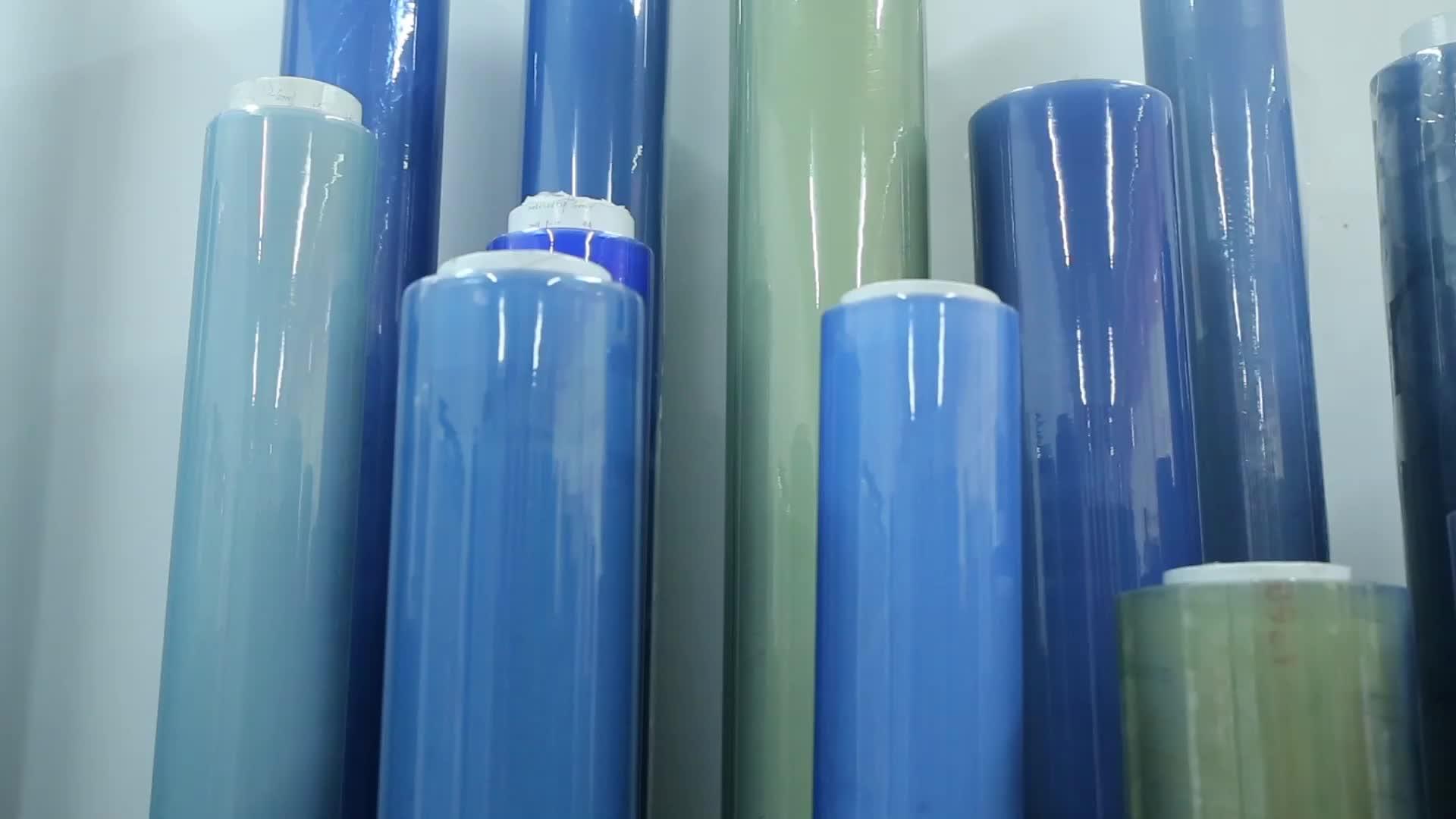 Guangzhou Chian weiche PVC-Rolle super klare normale transparente Kunststofffolie