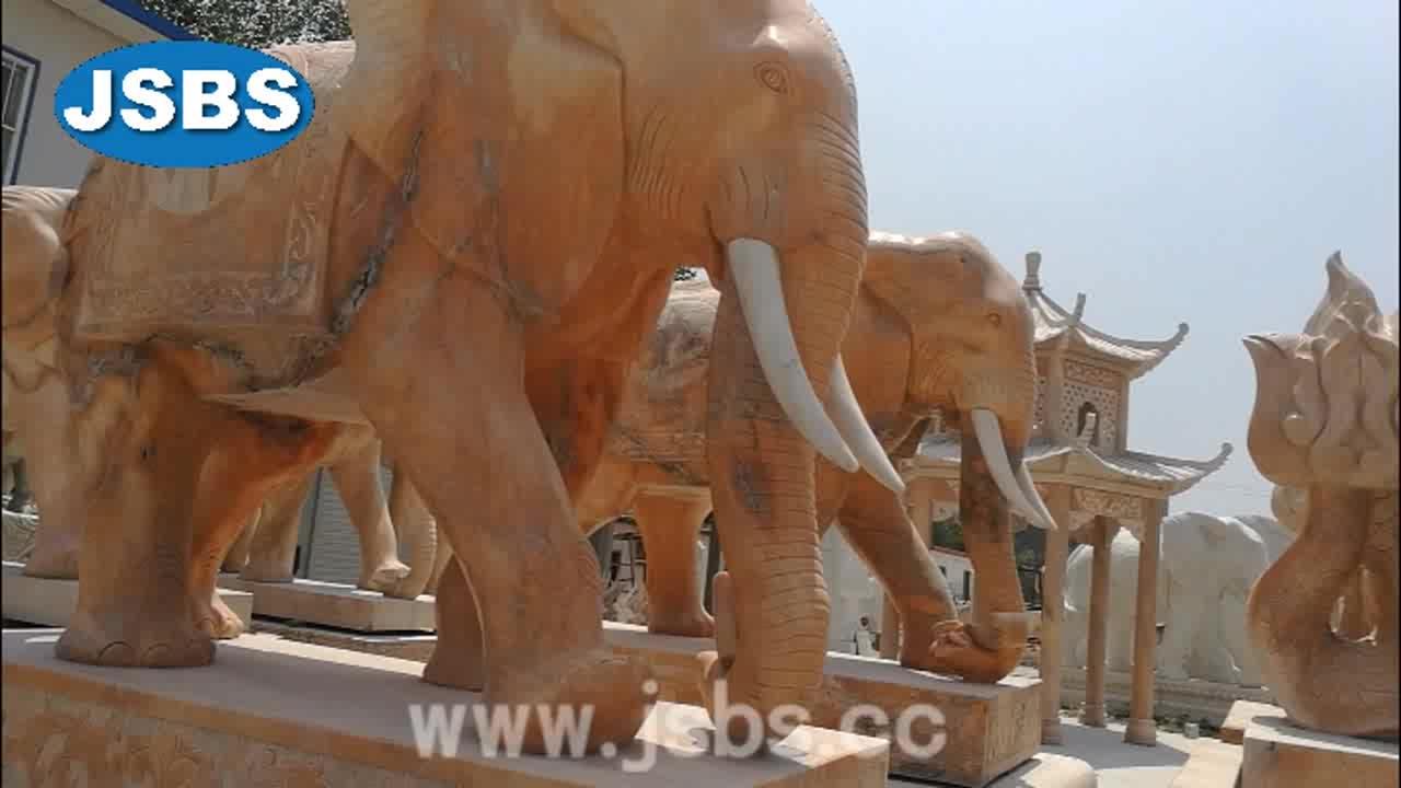 Marmo elefante scultura