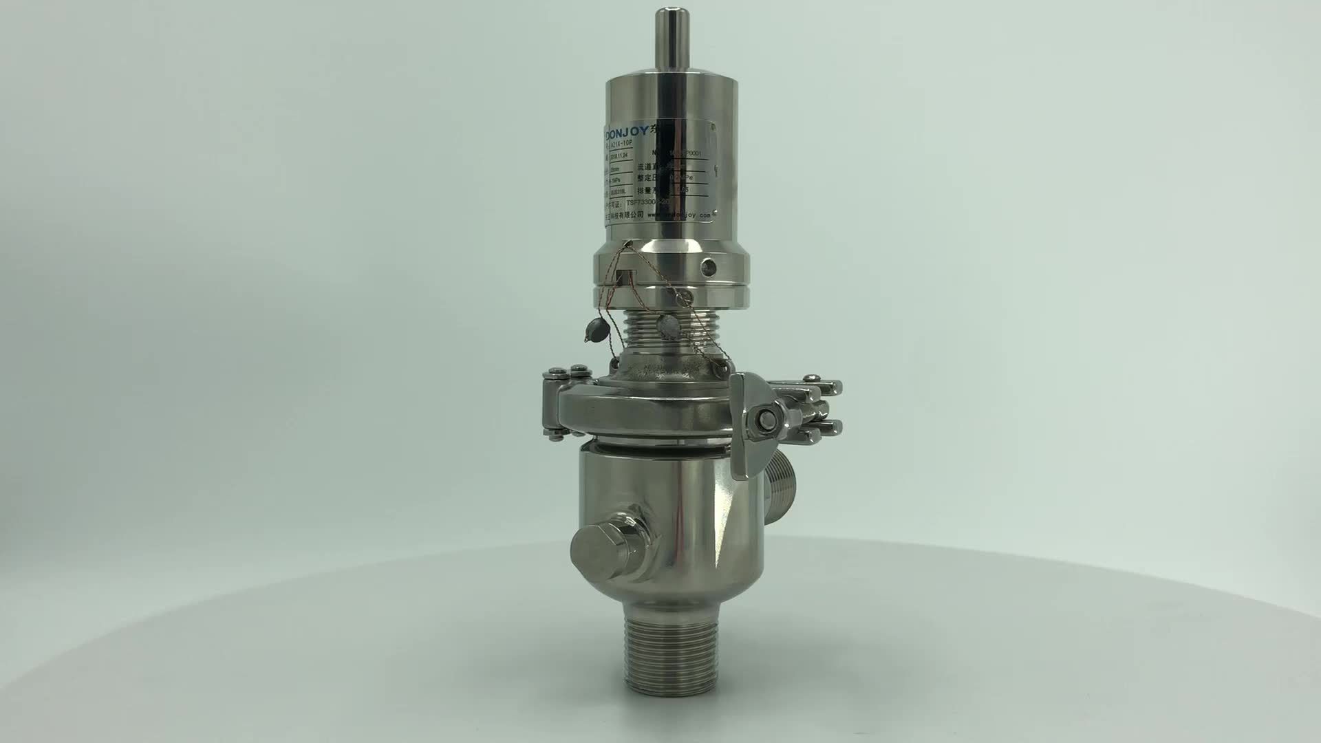 DONJOY pressure control technology stainless steel pressure reducing valve