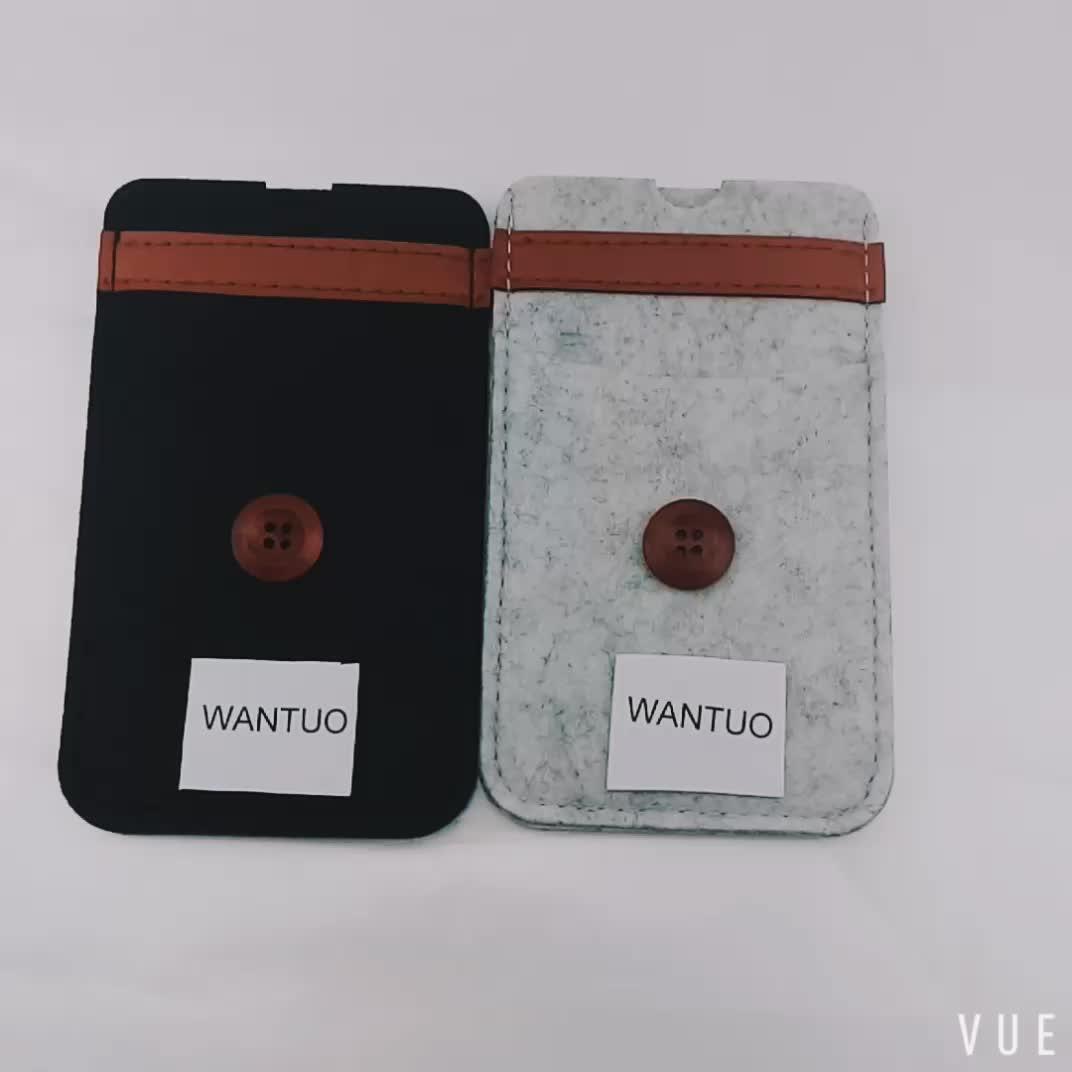 felt mobile handmade phone case bag, Felt Cell Phone Pouch,Felt Phone case