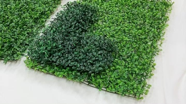 गार्डन होम परिदृश्य सजावट प्लास्टिक कृत्रिम पौधों आउटडोर हरे रंग की दीवार